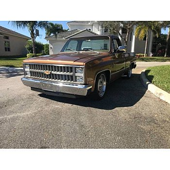 1981 Chevrolet C/K Truck for sale 101061755