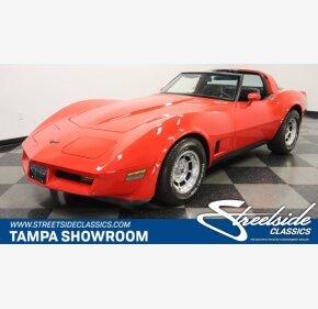 1981 Chevrolet Corvette for sale 101391059