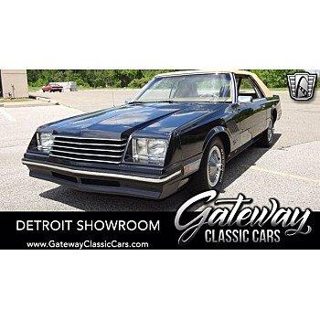 1981 Dodge Mirada for sale 101313629