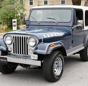1981 Jeep CJ 7 for sale 101093228