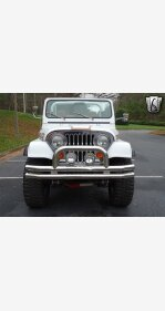 1981 Jeep CJ for sale 101251596