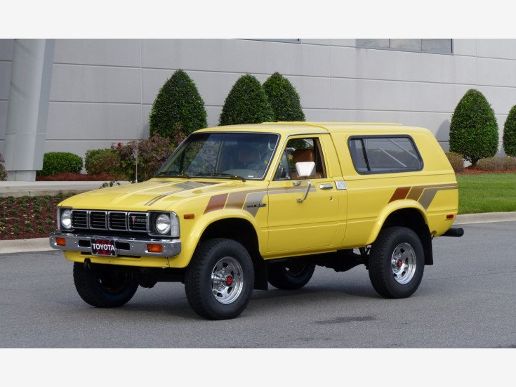 1981 Toyota Pickup 4x4 Regular Cab Deluxe for sale near ...