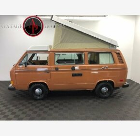 1981 Volkswagen Vanagon Camper for sale 101188491