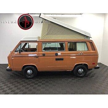 1981 Volkswagen Vanagon Camper for sale 101188491