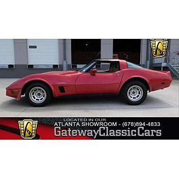1982 Chevrolet Corvette Coupe for sale 100963526