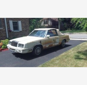 1982 Chrysler LeBaron Convertible for sale 101197507