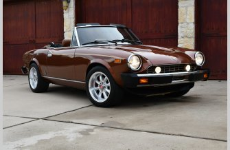 1982 FIAT 2000 Spider for sale 101081443