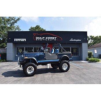1982 Jeep CJ for sale 101563428