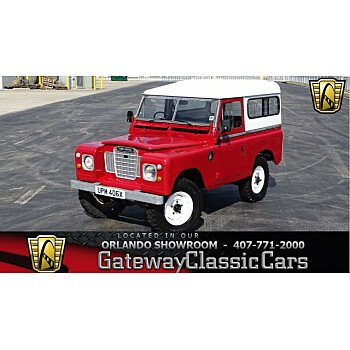1982 Land Rover Series III for sale 101082295
