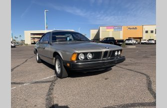 1983 BMW 633CSi Coupe for sale 101429498