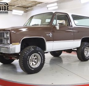 1983 Chevrolet Blazer 4WD for sale 101428165