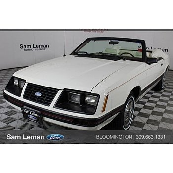 1983 Ford Mustang Convertible for sale 101017166