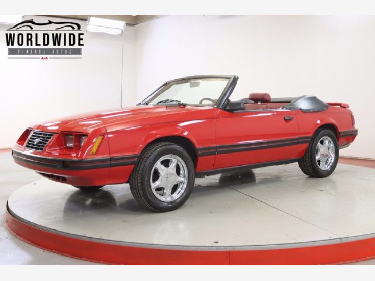 1983 Ford Mustang Convertible for sale 101477847
