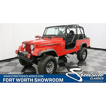 1983 Jeep CJ for sale 101204589