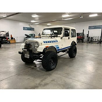 1983 Jeep CJ 7 for sale 101230087