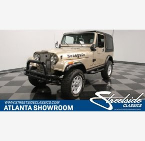 1983 Jeep CJ 7 for sale 101240788