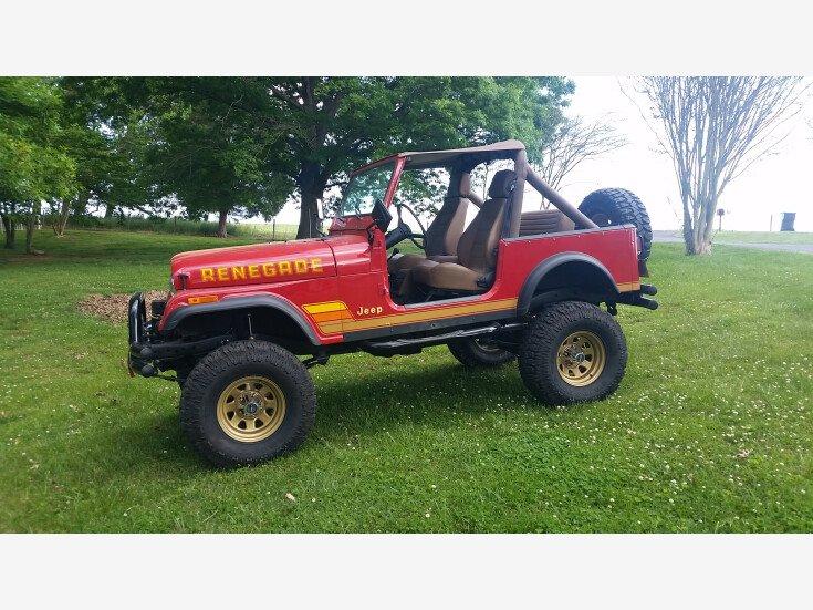 1983 Jeep CJ 7 for sale 101544435