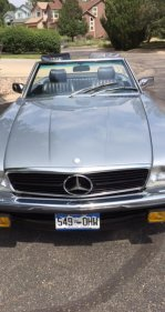 1983 Mercedes-Benz 500SL for sale 101001742