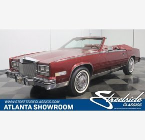 1984 Cadillac Eldorado Biarritz Convertible for sale 101002319