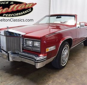 1984 Cadillac Eldorado Biarritz Convertible for sale 101343390