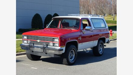 1984 Chevrolet Blazer 4WD for sale 101271808