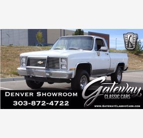 1984 Chevrolet C/K Truck 4x4 Regular Cab 1500 for sale 101397930