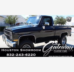 1984 Chevrolet C/K Truck 4x4 Regular Cab 1500 for sale 101404506