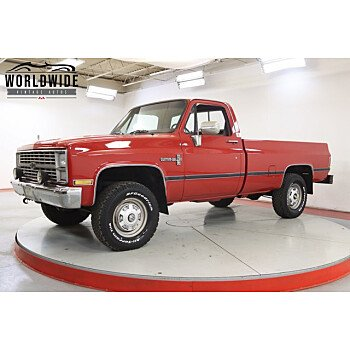 1984 Chevrolet C/K Truck 4x4 Regular Cab 2500 for sale 101429645