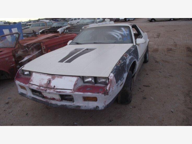 1984 Chevrolet Camaro for sale 101320383