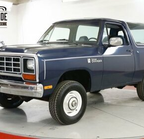 1984 Dodge Ramcharger AW 100 4WD for sale 101278726