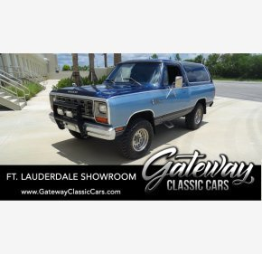 1984 Dodge Ramcharger for sale 101335189