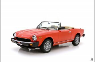 1984 FIAT Pininfarina Spider for sale 101306765
