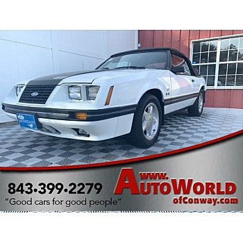 1984 Ford Mustang GLX V8 Convertible for sale 101236860