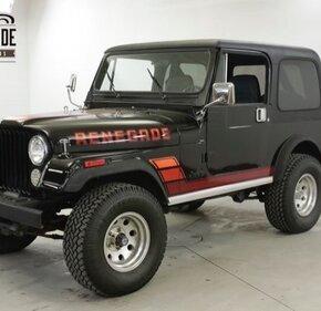 1984 Jeep CJ 7 for sale 101244285