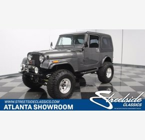 1984 Jeep CJ 7 for sale 101410281