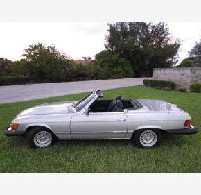 1984 Mercedes-Benz 380SL for sale 101058688