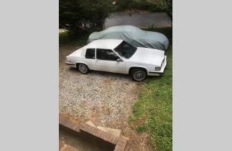 1985 Cadillac De Ville Coupe for sale 101478948