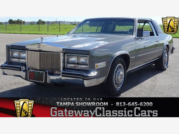 1985 Cadillac Eldorado Coupe For Sale Near O Fallon