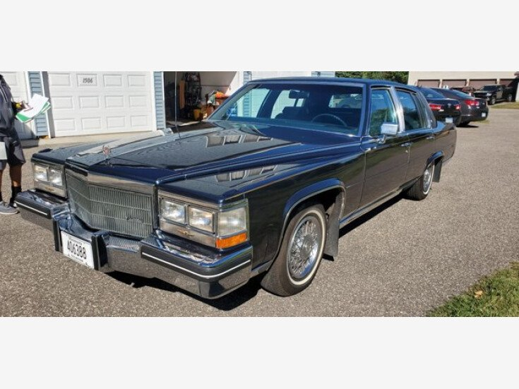 1985 Cadillac Fleetwood Brougham Sedan for sale 101381684