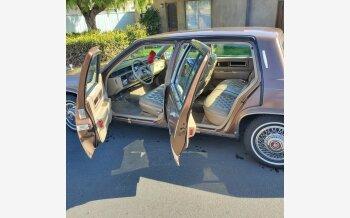 1985 Cadillac Fleetwood Sedan for sale 101576970