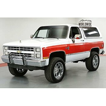 1985 Chevrolet Blazer 4WD for sale 101053157
