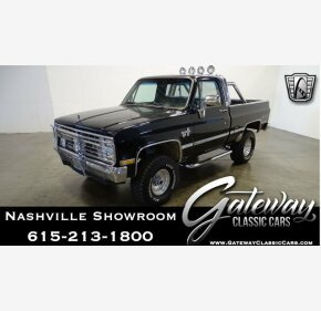 1985 Chevrolet C/K Truck 4x4 Regular Cab 1500 for sale 101199903