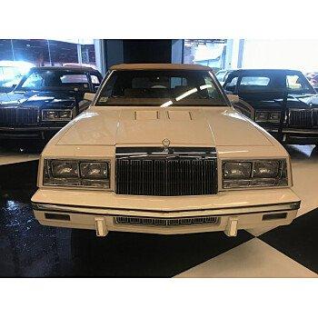 1985 Chrysler LeBaron Convertible for sale 101107281