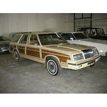 1985 Chrysler LeBaron Town & Country Wagon for sale 101587189