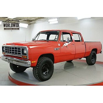 1985 Dodge D/W Truck 4x4 Crew Cab W-350 for sale 101147751