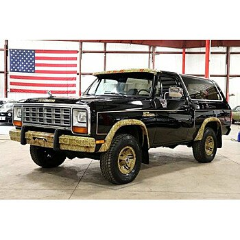 1985 Dodge Ramcharger AW 100 4WD for sale 101117016