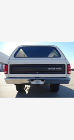 1985 Dodge Ramcharger for sale 101335658