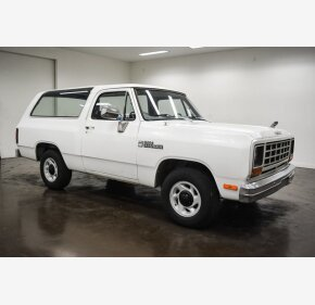 1985 Dodge Ramcharger AD 100 2WD for sale 101360951