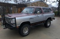 1985 Dodge Ramcharger AW 100 4WD for sale 101290019
