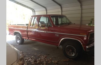 1985 Ford F150 2WD SuperCab for sale 101234074